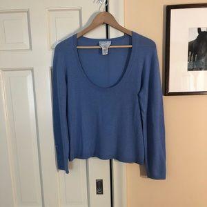Talbots cashmere scoopneck sweater